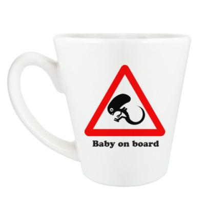 Чашка Латте Ребенок на борту