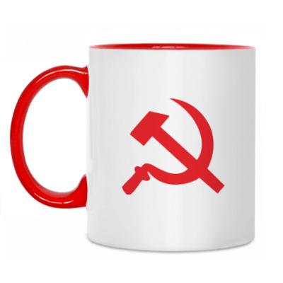 Кружка Серп и молот - СССР
