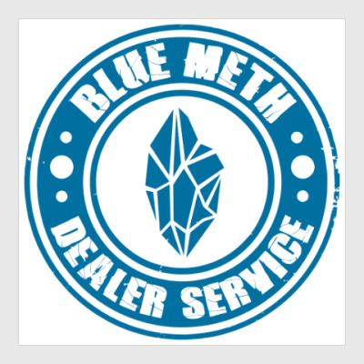 Постер Blue Meth Dealer