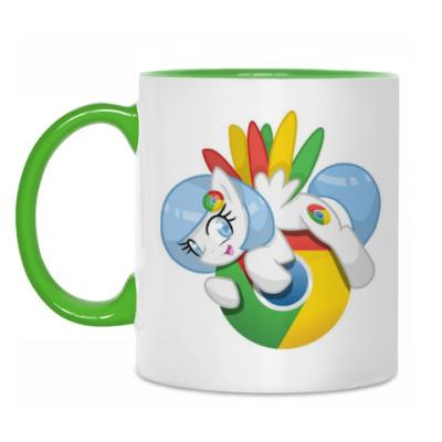 Кружка Google Pony