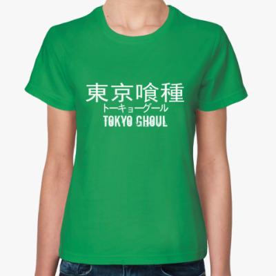 Женская футболка Tokyo Ghoul
