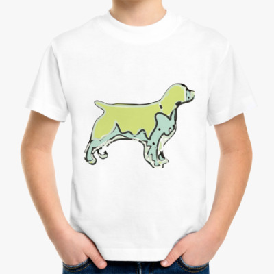 Детская футболка Собака