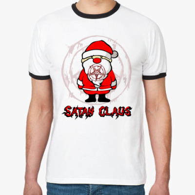 Футболка Ringer-T Satan Claus