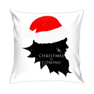 Подушка Christmas is coming