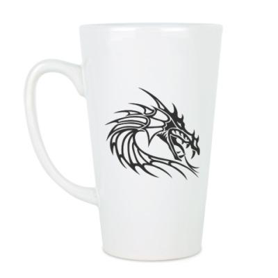 Чашка Латте Древний дракон