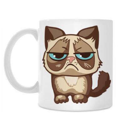 Кружка Угрюмый кот Тард - Grumpy Cat