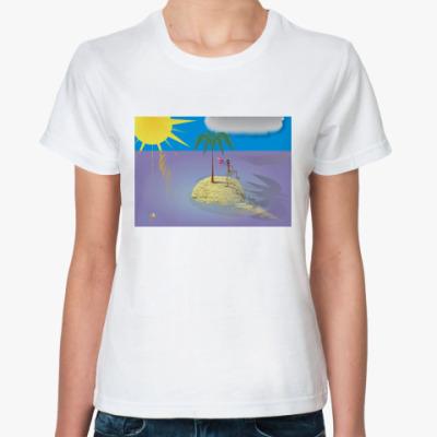 Классическая футболка Островок