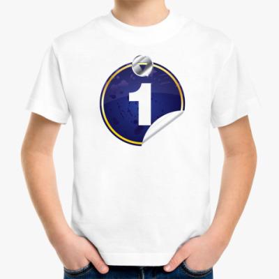 Детская футболка номер