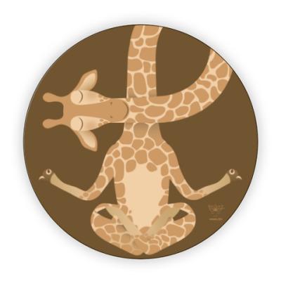 Костер (подставка под кружку) Animal Zen: G is for Giraffe