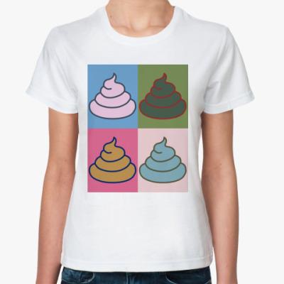 Классическая футболка 'Энди Уорхол'