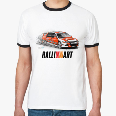 Футболка Ringer-T Ralli Art