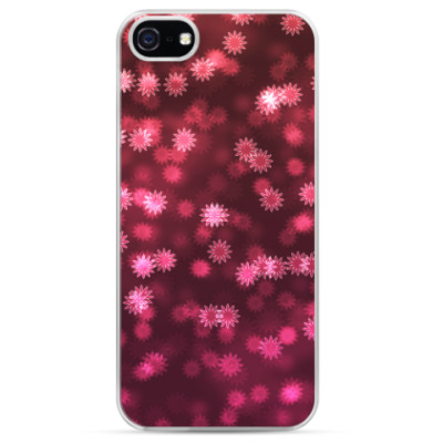 Чехол для iPhone Падающие цветы