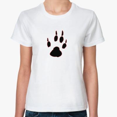 Классическая футболка Лапа