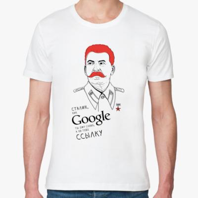 Футболка из органик-хлопка Сталин