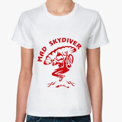 Классическая футболка MAD SKYDIVER