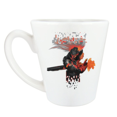 Чашка Латте Yasuo из League of Legends