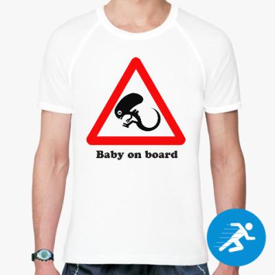 Спортивная футболка Ребенок на борту