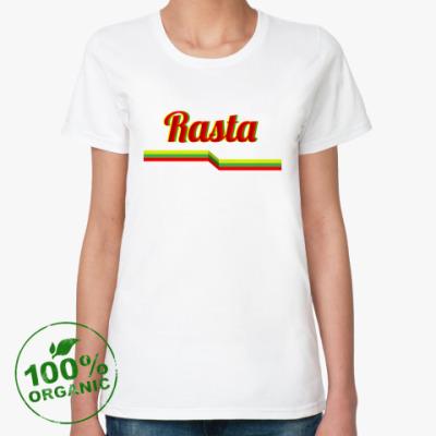 Женская футболка из органик-хлопка Rasta