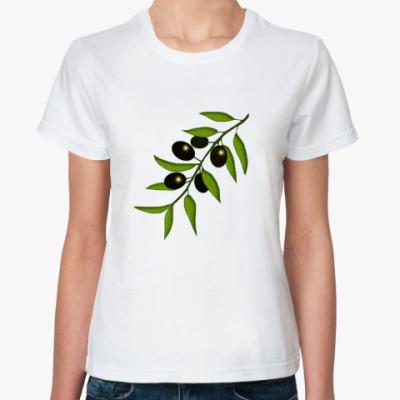 Классическая футболка Маслины