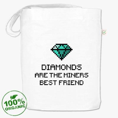Сумка Minecraft - diamonds