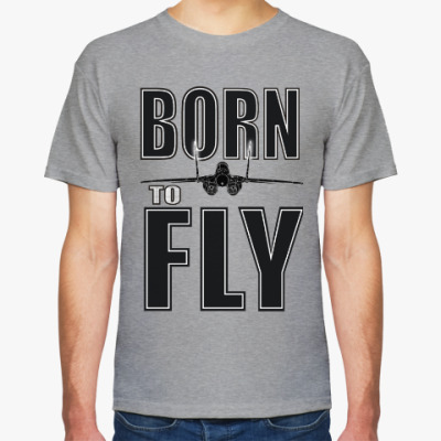 Футболка BORN TO FLY Миг-29
