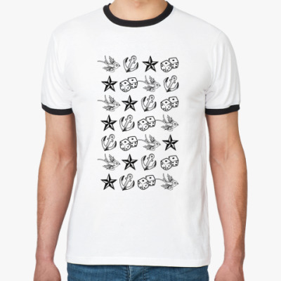 Футболка Ringer-T Символы