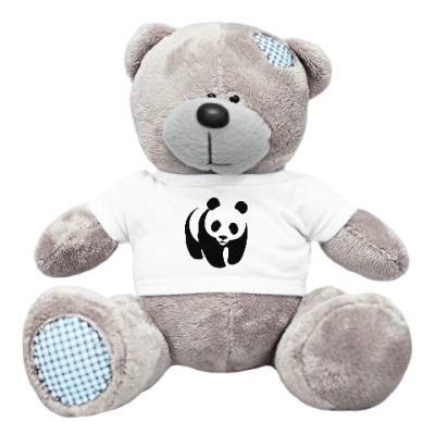 Плюшевый мишка Тедди WWF. Панда