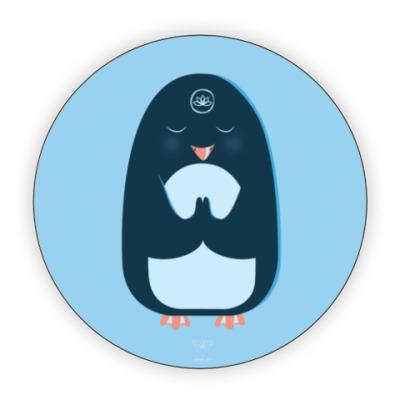 Костер (подставка под кружку) Animal Zen: P is for Penguin