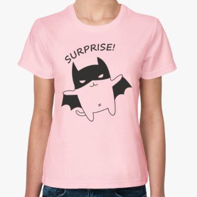 Женская футболка Леди БЭТ
