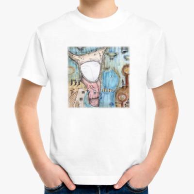 Детская футболка Синий кот