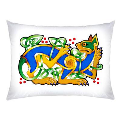 Подушка Кельтский кот