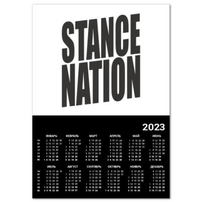 Календарь  stance:nation