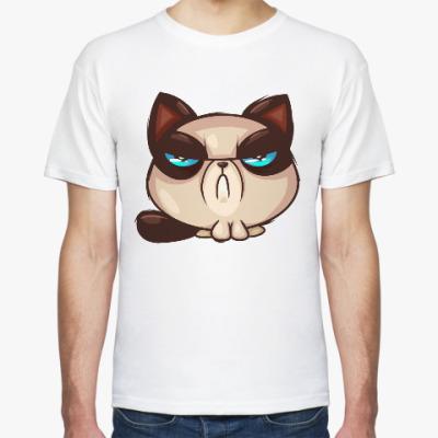 Футболка Грустный Кот (Grumpy Cat)