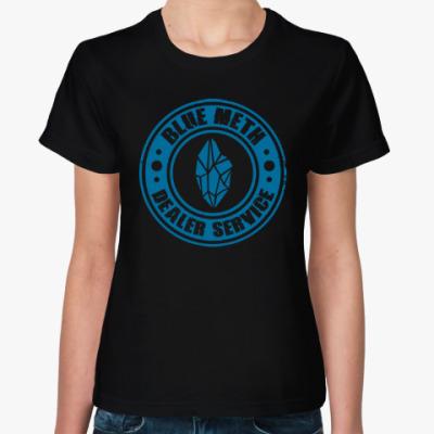Женская футболка Blue Meth Dealer