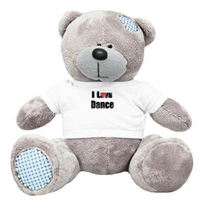 Плюшевый мишка Тедди I LOVE DANCE