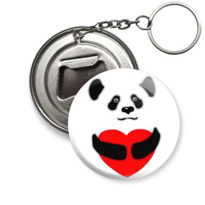 Брелок-открывашка Панда