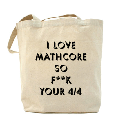 Сумка I Love Mathcore