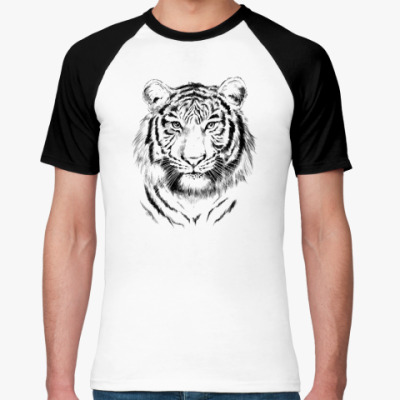 Футболка реглан Тигр