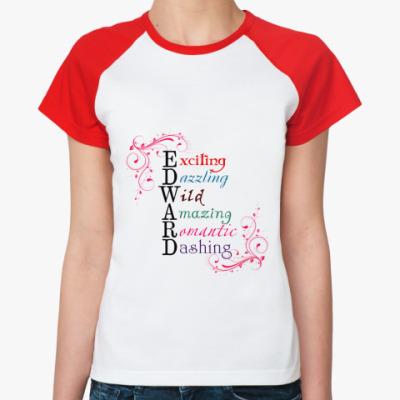 Женская футболка реглан Edward