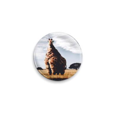 Значок 25мм Жираф