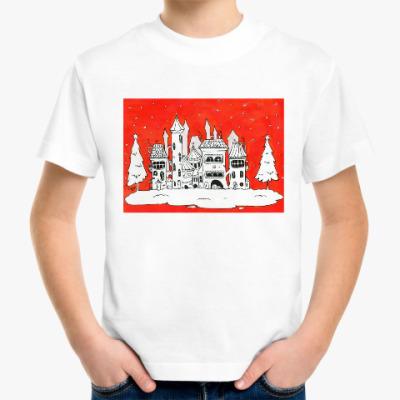 Детская футболка Рождественское настроение
