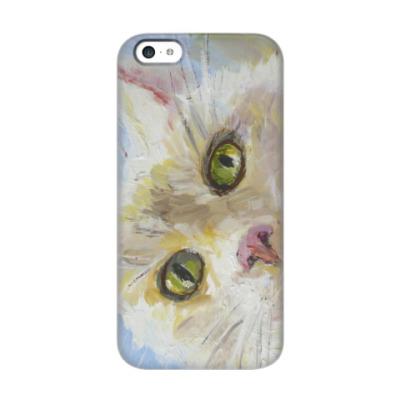Чехол для iPhone 5c Нежный котик