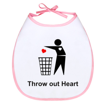 Слюнявчик Слюнявчик Throw out Heart