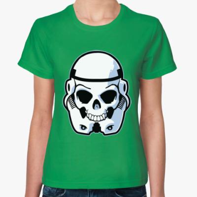 Женская футболка Trooper Skull