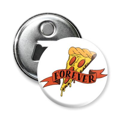 Магнит-открывашка Pizza forever