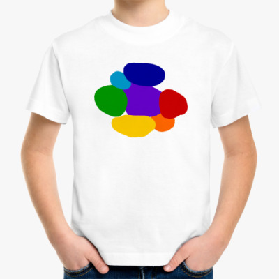 Детская футболка Разноцветье
