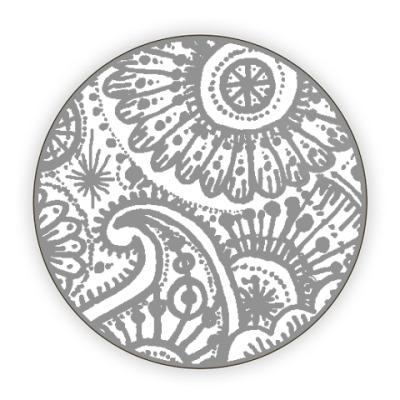 Костер (подставка под кружку) Мехенди