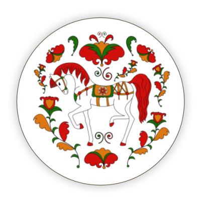 Костер (подставка под кружку) Русский орнамент / Russian folk ornament