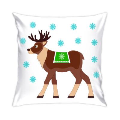 Подушка Reindeer
