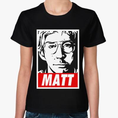 Женская футболка Мэтт (Звёздные войны)